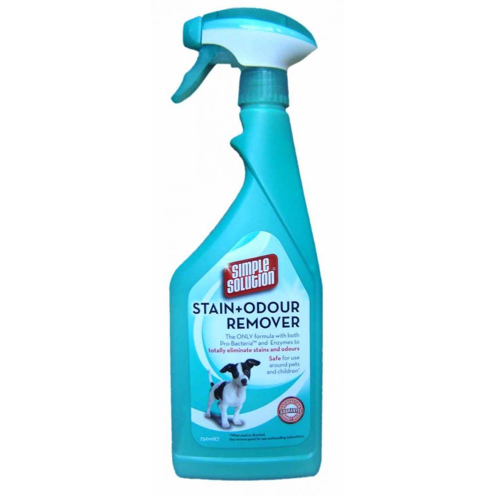 Simple solution - Solutie  indepartat pete si mirosuri pentru caini