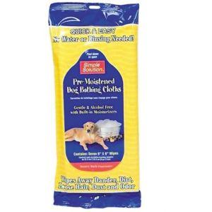 Sevetele umede pentru toaletare catei, pisici si animale mici - 7 buc