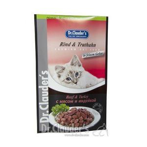 Plic Dr. Clauder's Vita si Curcan 100g - pentru pisici