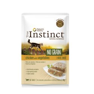 Hrana umeda pentru pisici, plic TRUE INSTINCT NO GRAIN PUI 70 GR
