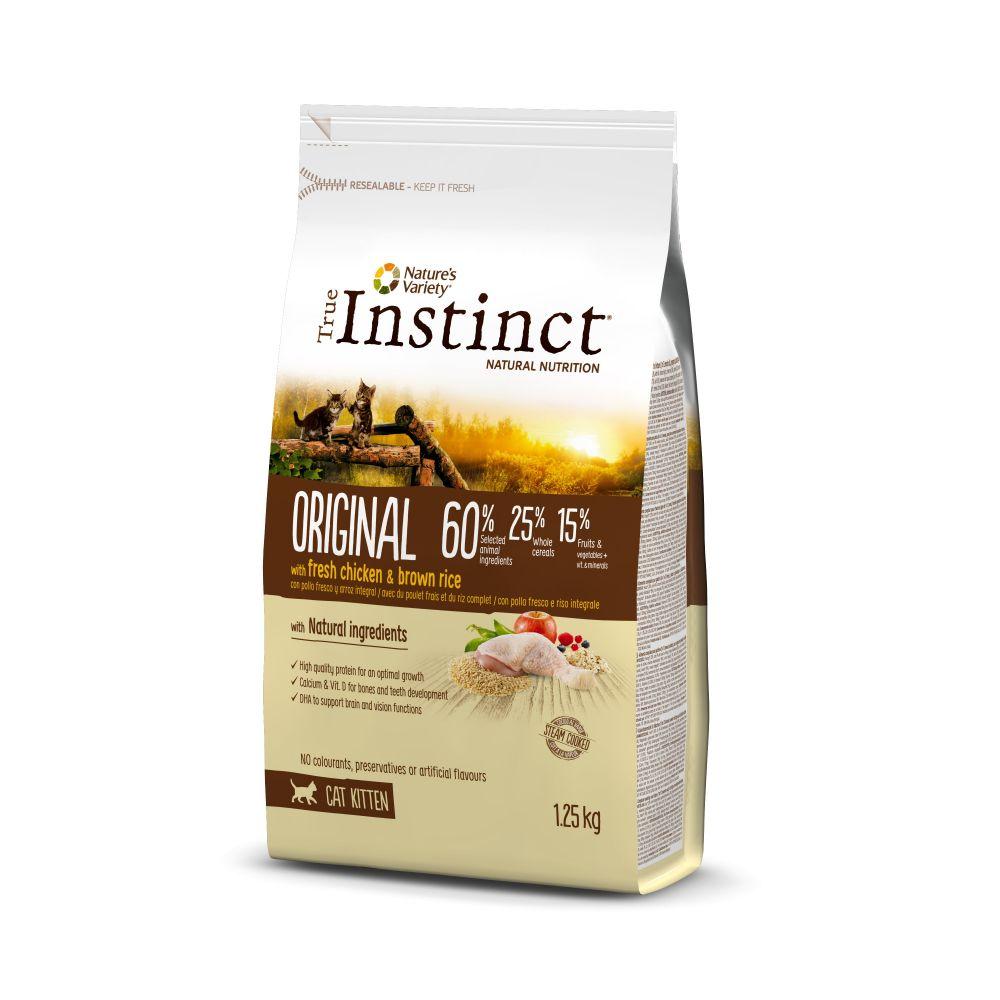 Hrana uscata pentru pisici, plic TRUE INSTINCT ORIGINAL KITTEN PUI 300 g