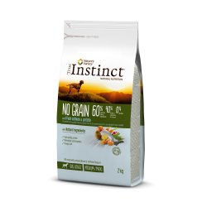 Hrana uscata pentru caini, sac TRUE INSTINCT NO GRAIN medium/maxi adult, somon