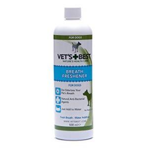 Solutie Vet's Best breath freshener pentru improspatarea respiratiei 500 ml