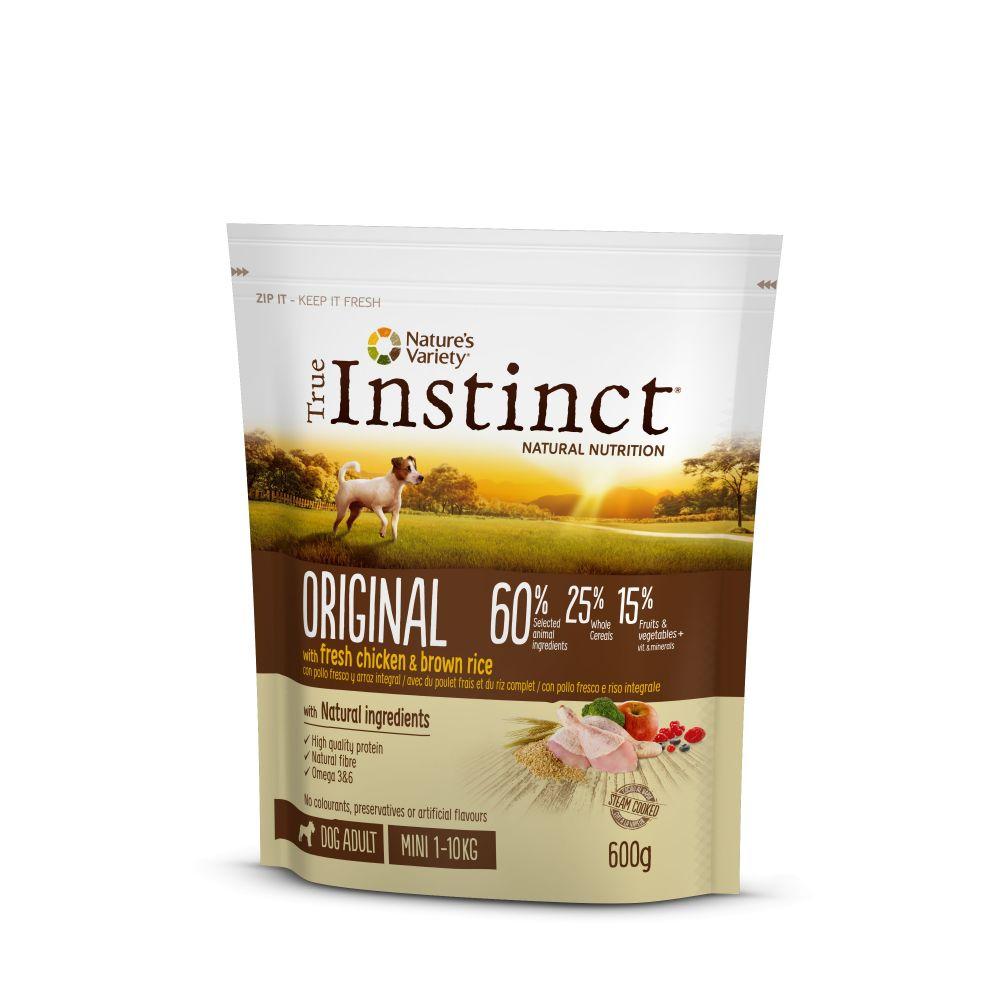 Hrana uscata pentru caini, sac TRUE INSTINCT DOG ORIGINAL mini adult, pui