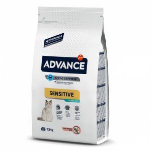 Hrana pisici Advance Sterilizat Somon Sensitive 1.5 kg