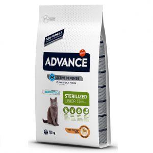 Hrana pisici Advance Sterilizat Junior 10 kg