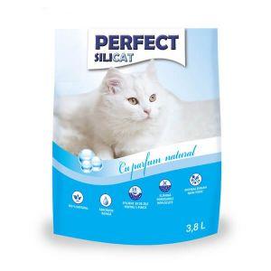 Nisip Perfect SiliCat gel litiera fara parfum 3.8 Litri