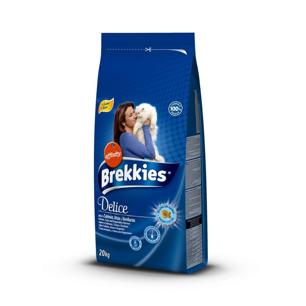 Hrana uscata pisici Brekkies Excel Delice Peste 20kg