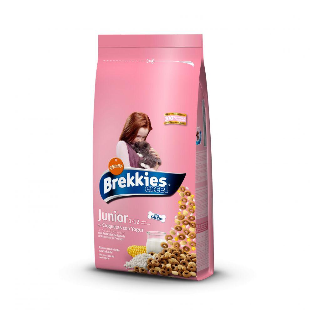Hrana pisici Brekkies Excel Junior Original 20kg